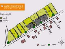 Prodej stavební parcely, Hostomice, Malostranská, 1.899.000,- Kč