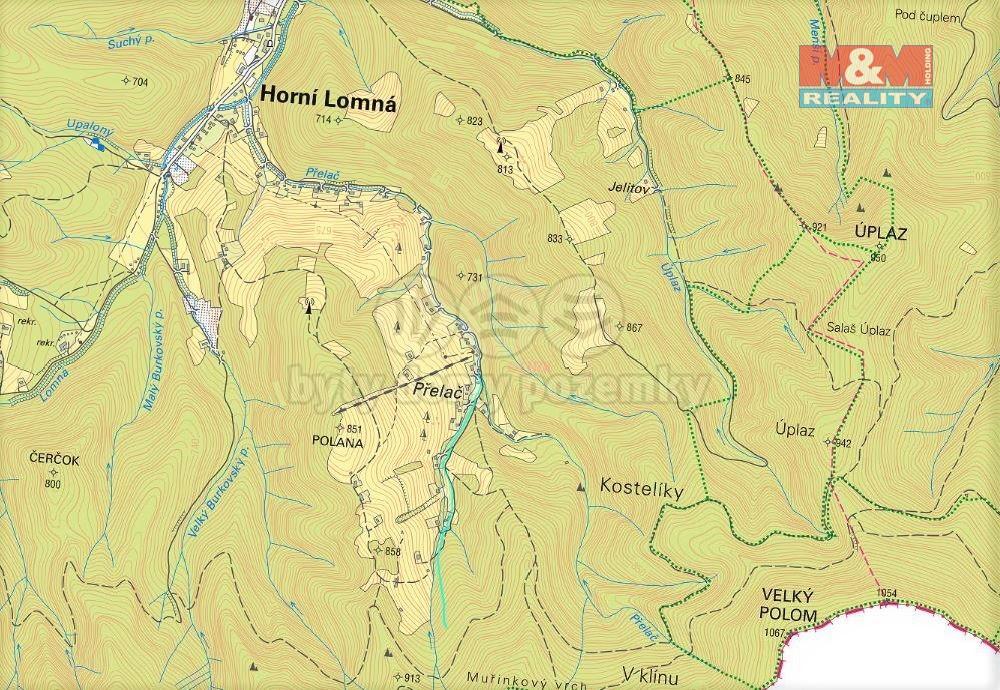 Prodej ostatních pozemků 48 m², Horní Lomná