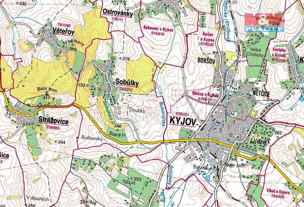 Prodej zemědělské půdy 929 m², Sobůlky