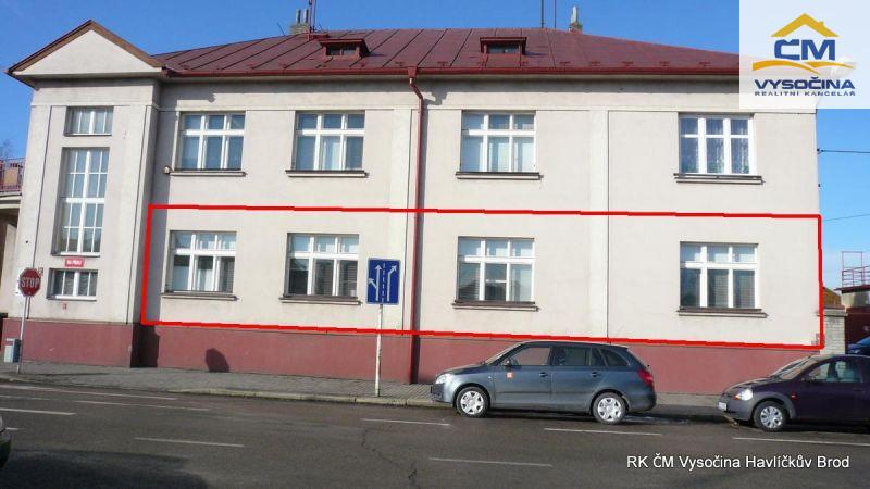 Pronájem prostor 162m2 v Havlíčkově Brodě.