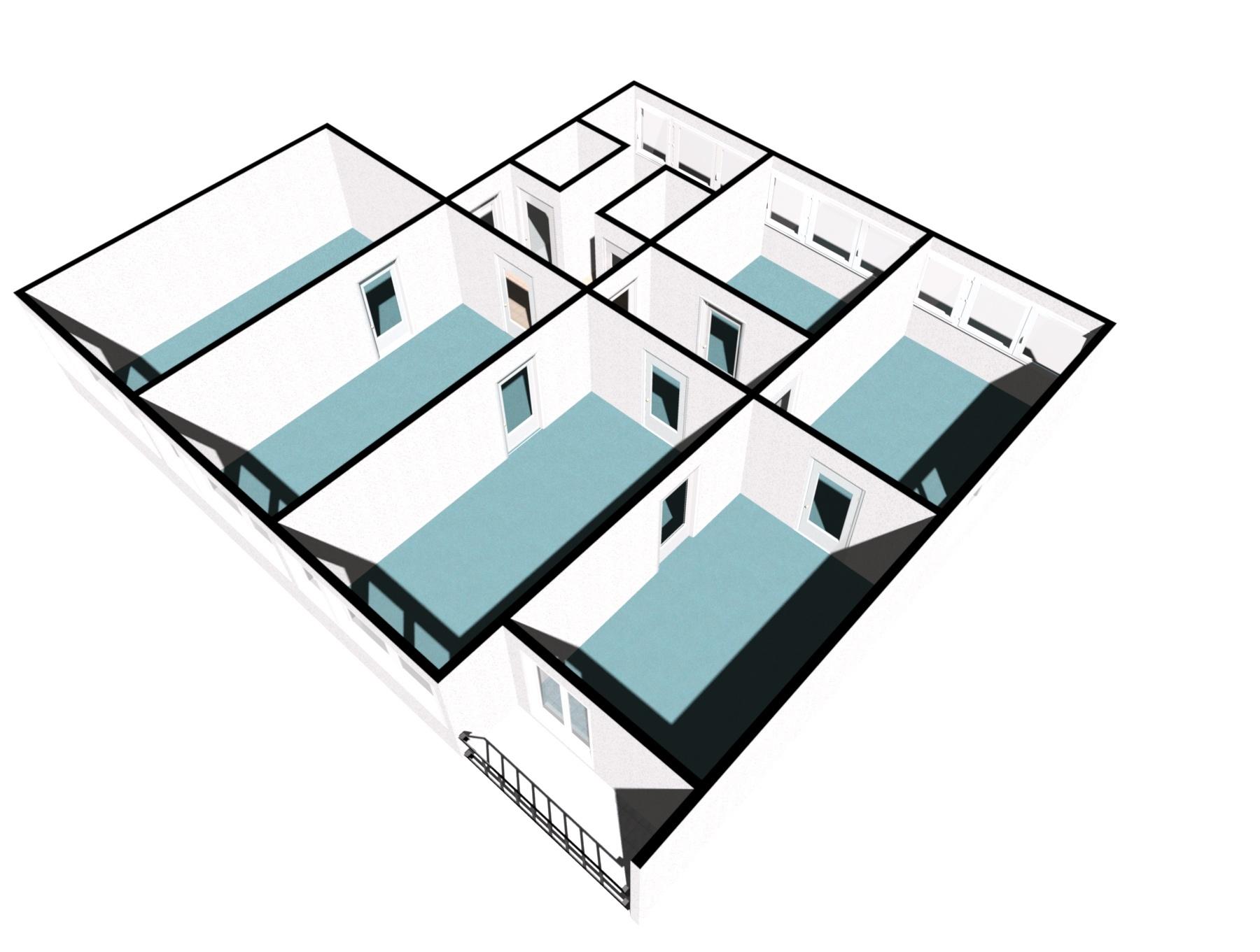Kanceláře pronájem_Plzeň - model