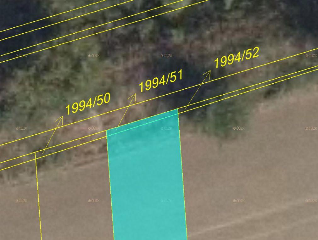 Dražba ostatních pozemků 4747 m², Svatobořice-Mistřín