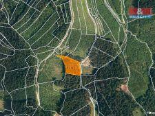 Prodej lesa, 4855m<sup>2</sup>, Lhota u Vsetína, 223.330,- Kč