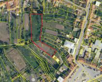 Prodej stavební parcely, Koryčany, 2.000.000,- Kč