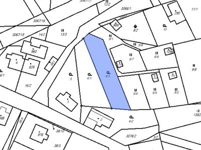 Prodej stavební parcely 715 m²