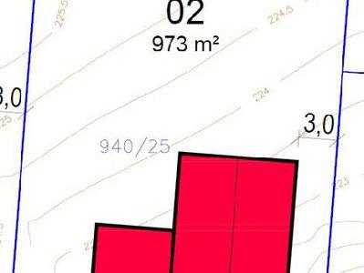 Prodej stavební parcely 973 m² Dobšice