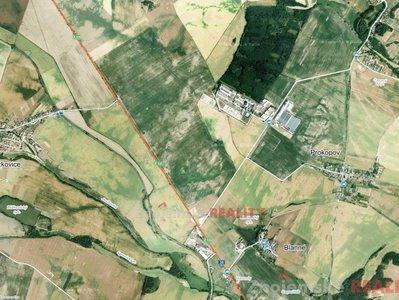 Prodej zemědělské půdy 35000 m² Blanné