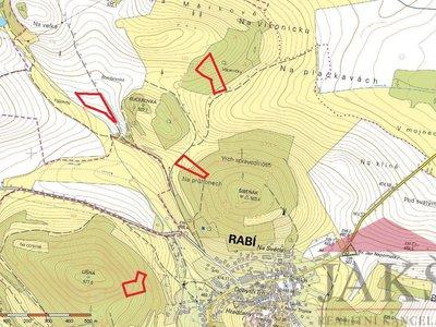 Prodej zemědělské půdy 47650 m² Rabí