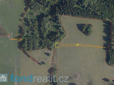 Prodej zemědělské půdy 2171 m² Březová