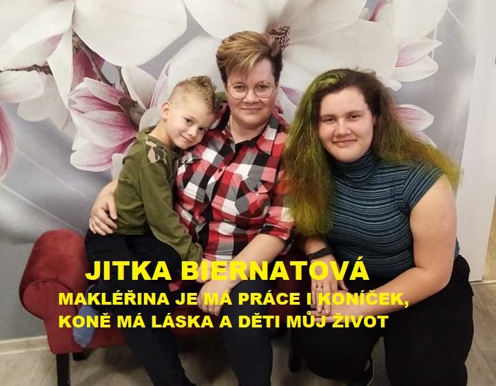 Realitní makléř  Jitka Biernatová